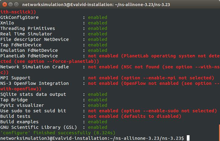 Install Evalvid in NS3